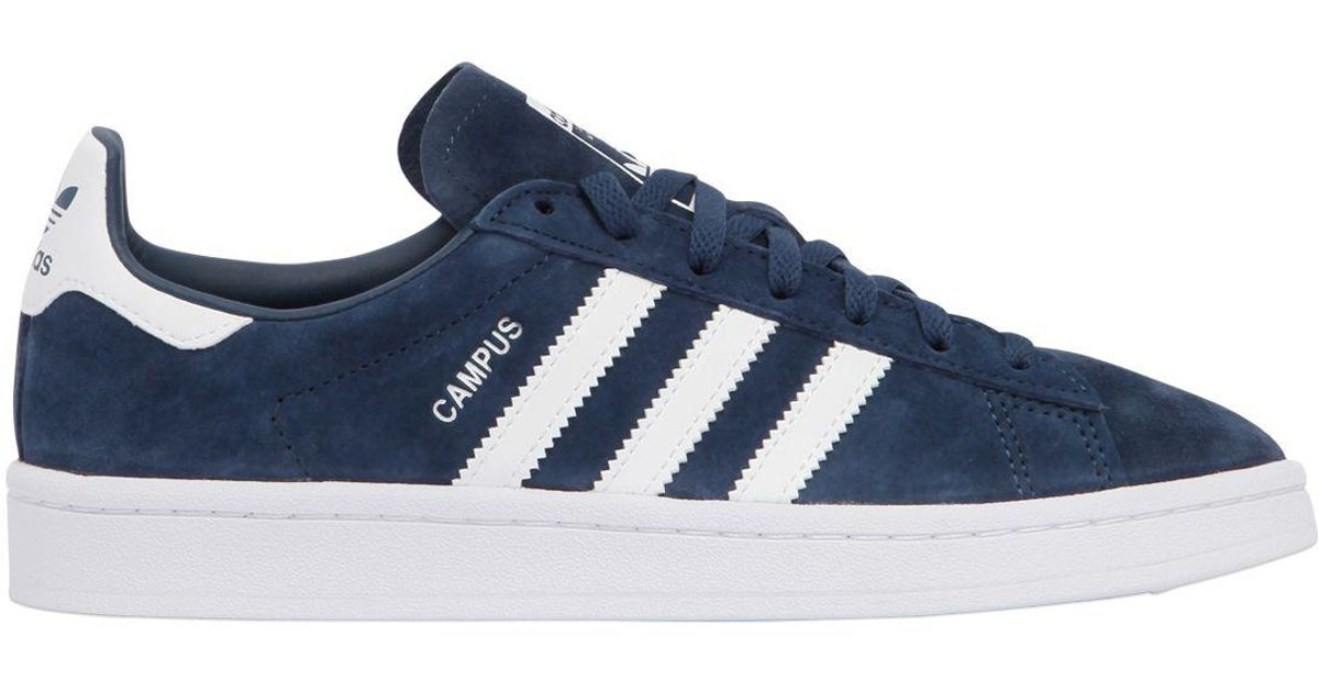 For Campus Blue Men Sneakers Nubuck Lyst In Adidas Originals 9DWIEH2