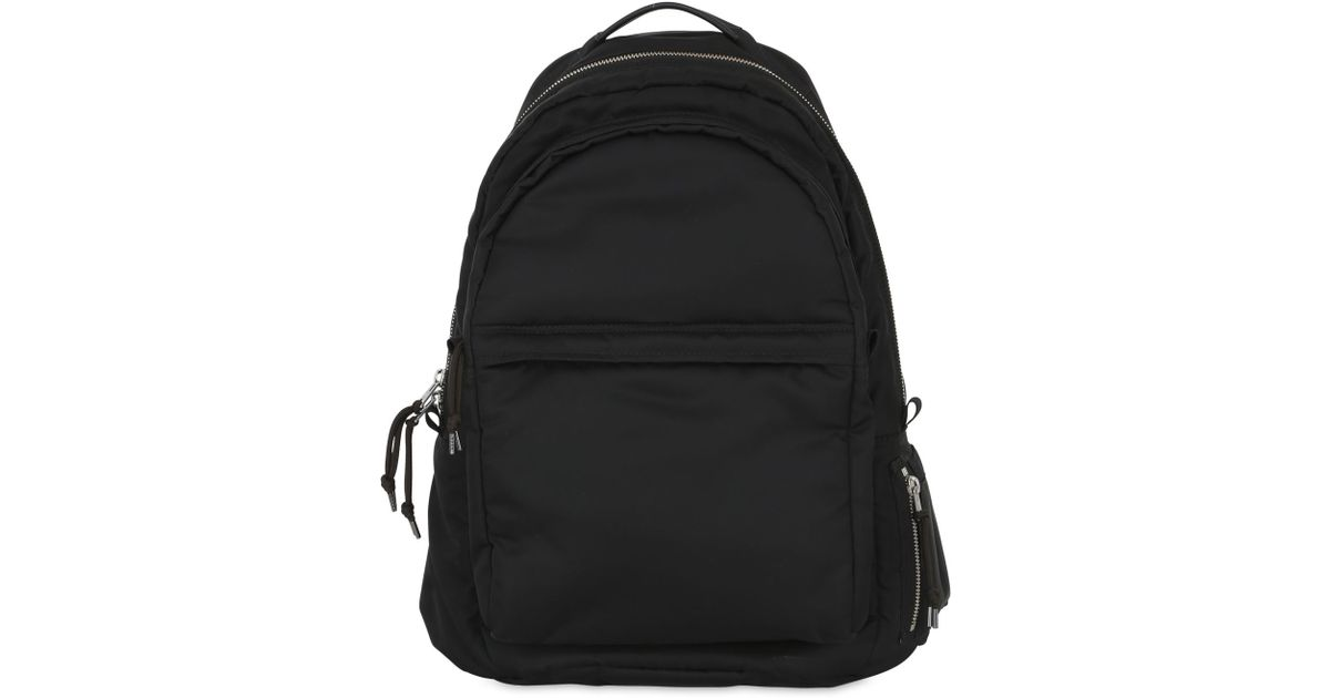 30a75ea77ced Lyst - AllSaints Chamber Nylon Twill Backpack in Black for Men