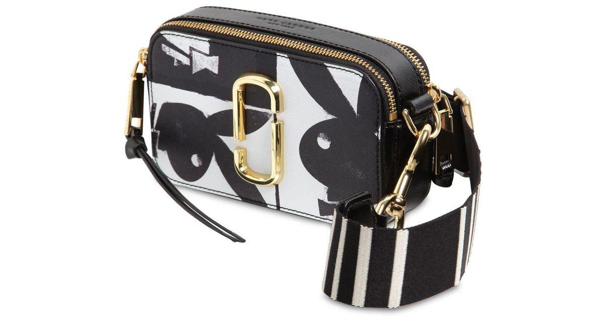 f5ff02531376 Marc Jacobs Snapshot Playboy Cross Body Bag in Black - Lyst