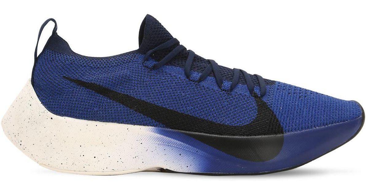 1023e3a1cbf9 Nike Vapor Street Flyknit Sneakers in Blue for Men - Lyst