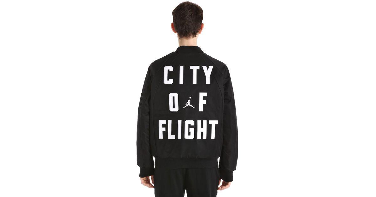 2eb2c2355deda0 Nike Air Jordan Wings Ma-1 Bomber Jacket in Black for Men - Lyst