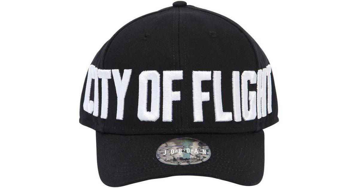 Nike Jordan Classic 99 City Of Flight Hat in Black - Lyst f1bc824e1c2f