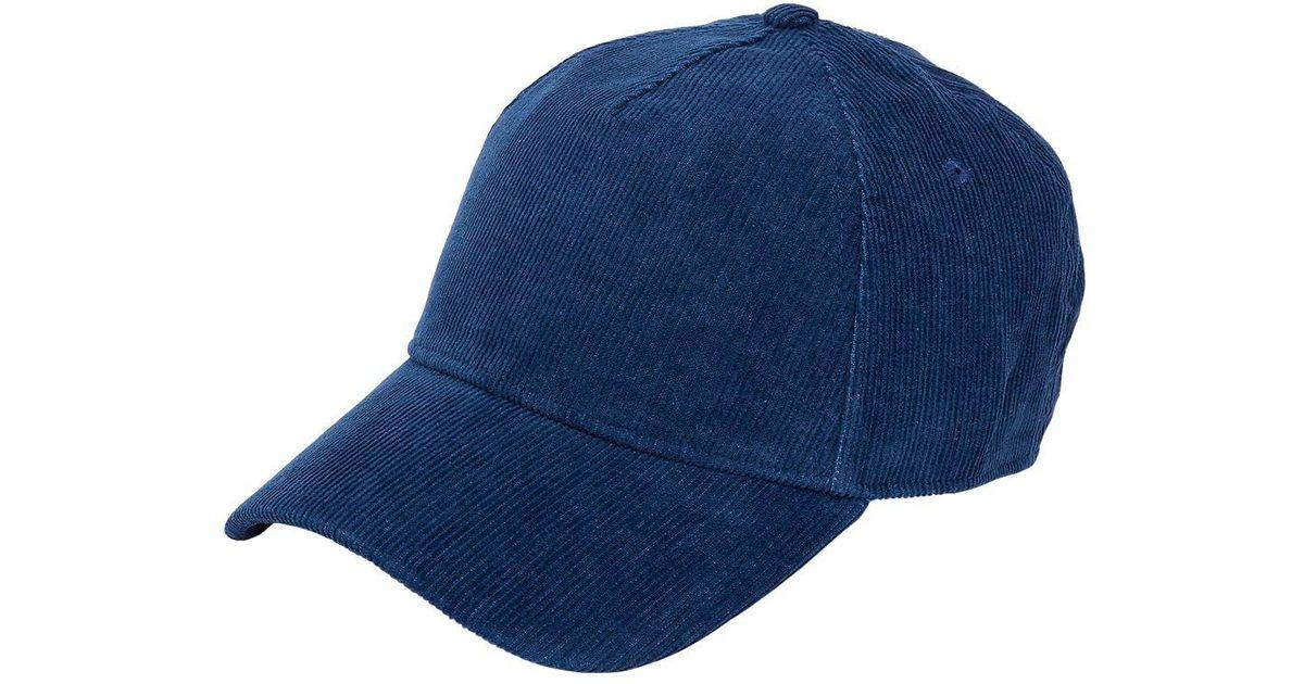 Rag   Bone Marilyn Suede Baseball Hat in Blue for Men - Lyst fa8504cb95e