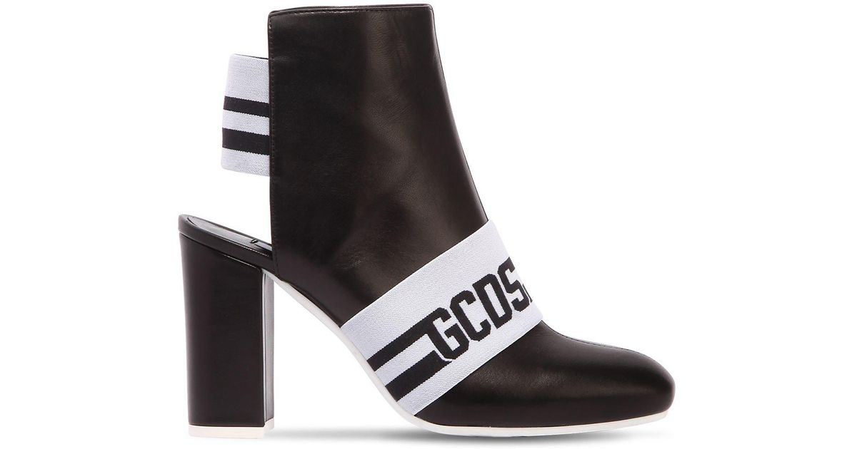 new arrival online Gcds logo open heel boots ebay online clearance good selling factory outlet sale online QIOWlIn42