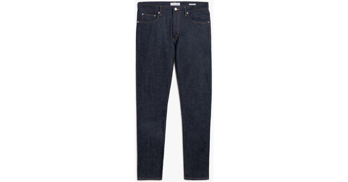 56c737d7615 Lyst - Mackintosh Skinny Selvedge Denim Jean D-mp002 in Blue for Men