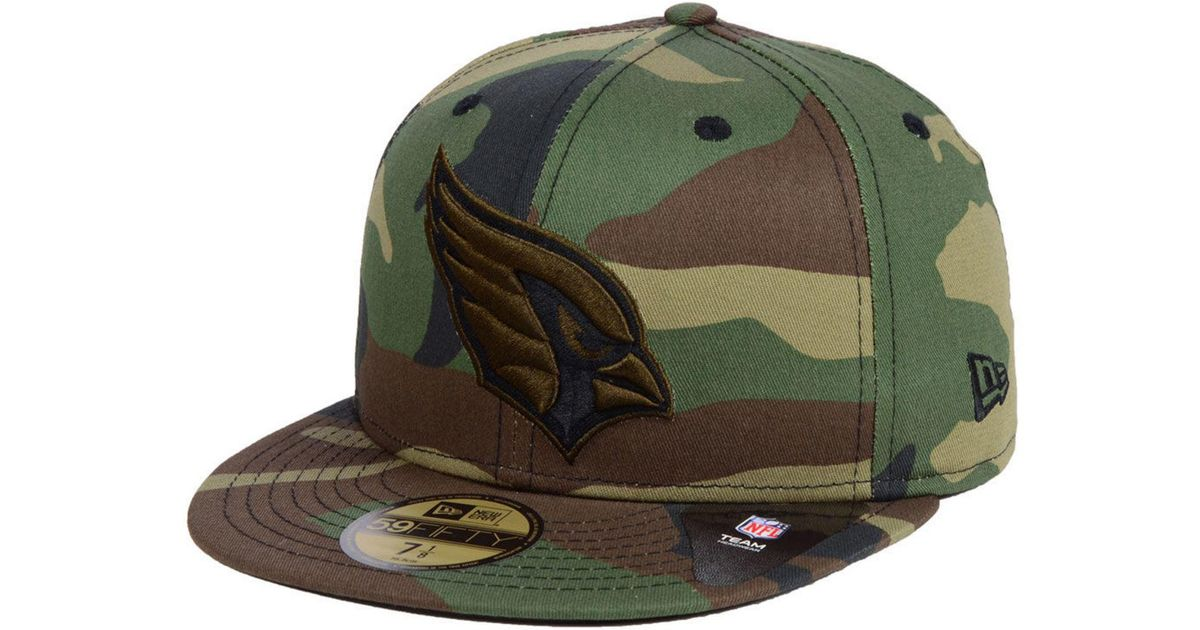 d37af3c55 Lyst - KTZ Arizona Cardinals Woodland Prism Pack 59fifty-fitted Cap in  Green for Men