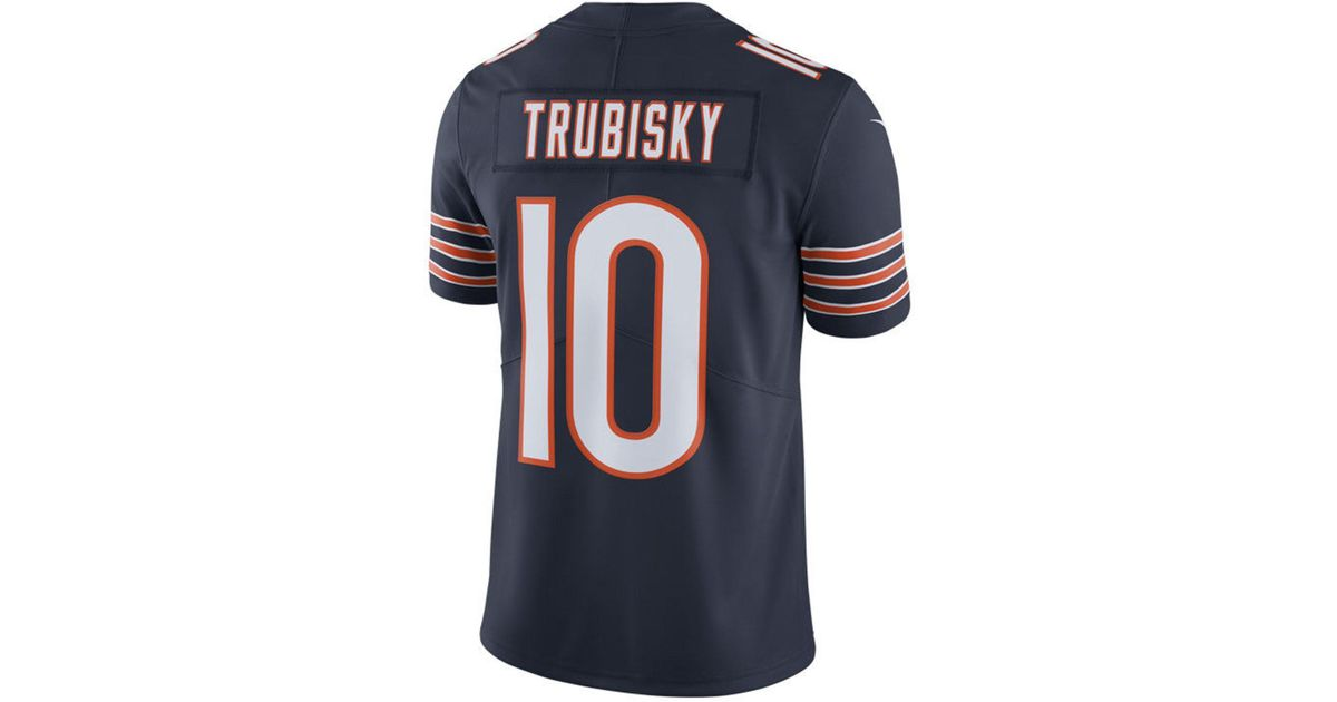 Lyst - Nike Mitchell Trubisky Chicago Bears Vapor Untouchable Limited  Jersey in Blue for Men 77d27b028