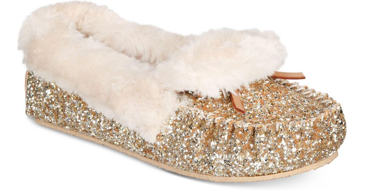5098006bb63 Lyst - INC International Concepts Yeldie Slippers in Metallic