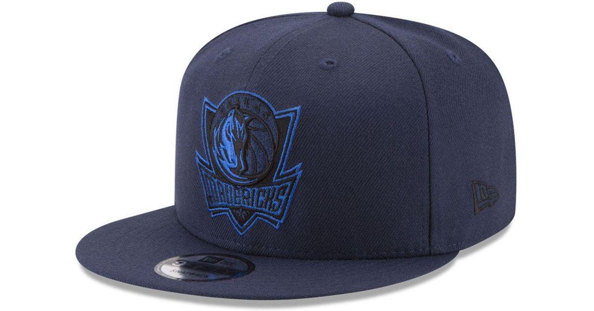 new concept ef88e f8254 Lyst - KTZ Dallas Mavericks All Colors 9fifty Snapback Cap in Blue for Men