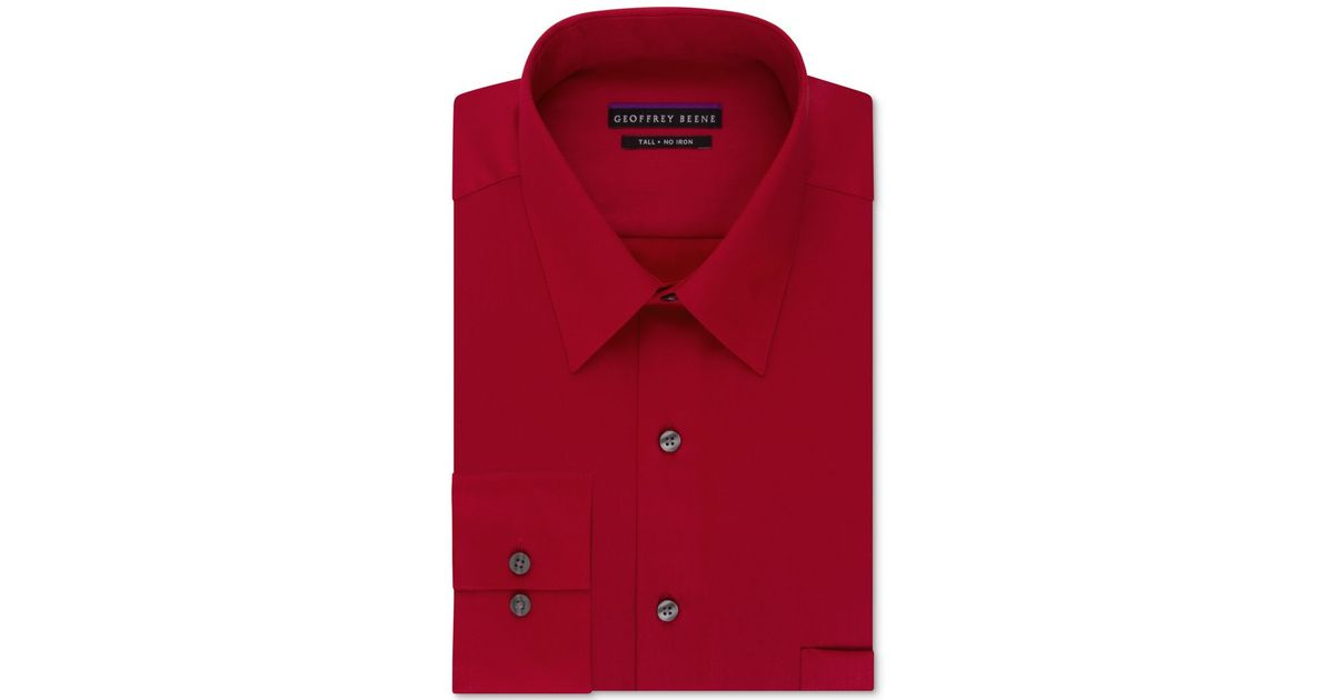 Geoffrey beene big and tall classic fit wrinkle free Best wrinkle free dress shirts