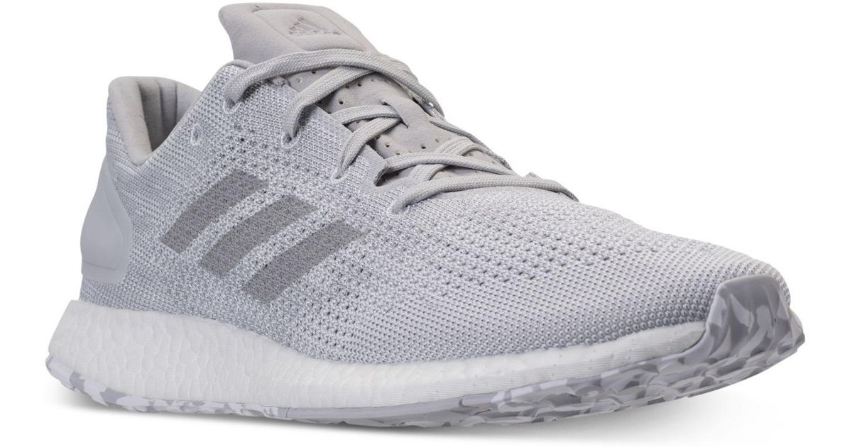 8678893cd09f ... norway lyst adidas mens pureboost dpr running sneakers from finish line  in gray for men b0893 official store mens adidas pureboost rbl ltd ...