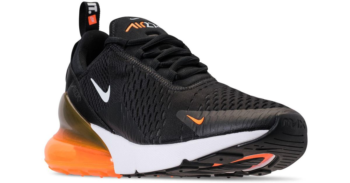 8dba0d5f1441 Lyst - Nike Air Max 270 Casual Sneakers From Finish Line in Black for Men