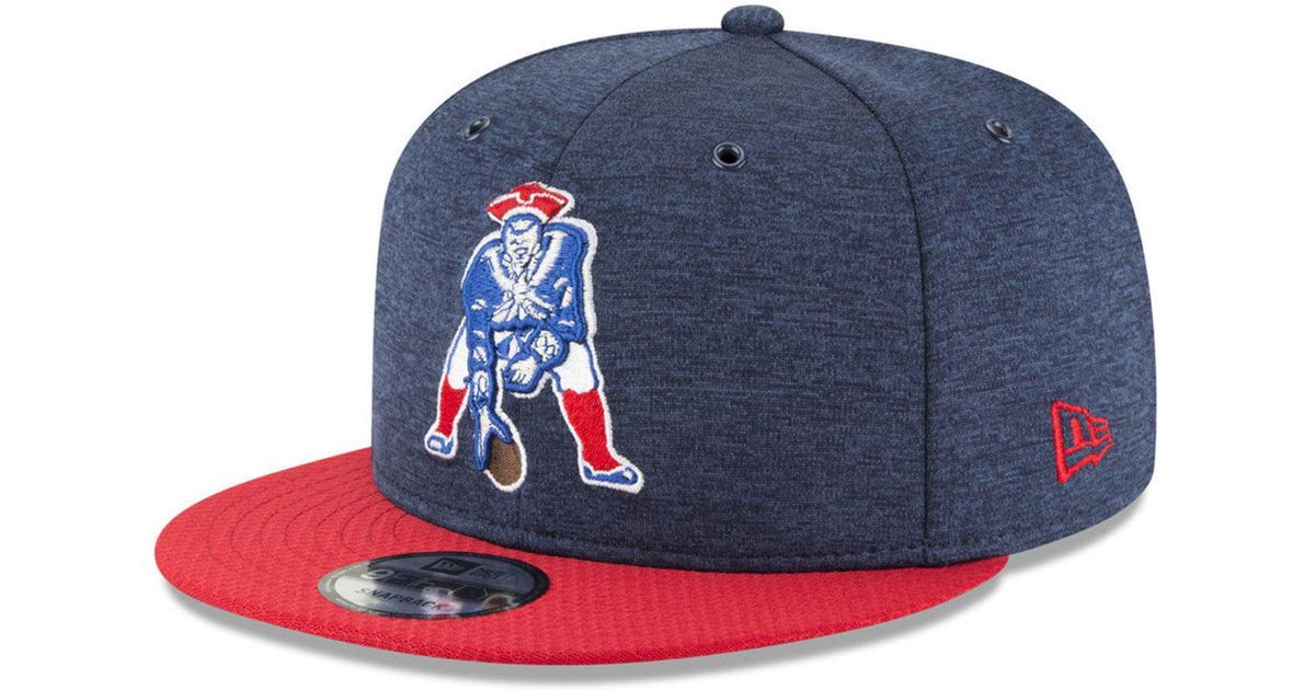 c610b1db25b Lyst - KTZ New England Patriots On Field Sideline Home 9fifty Snapback Cap  in Blue for Men