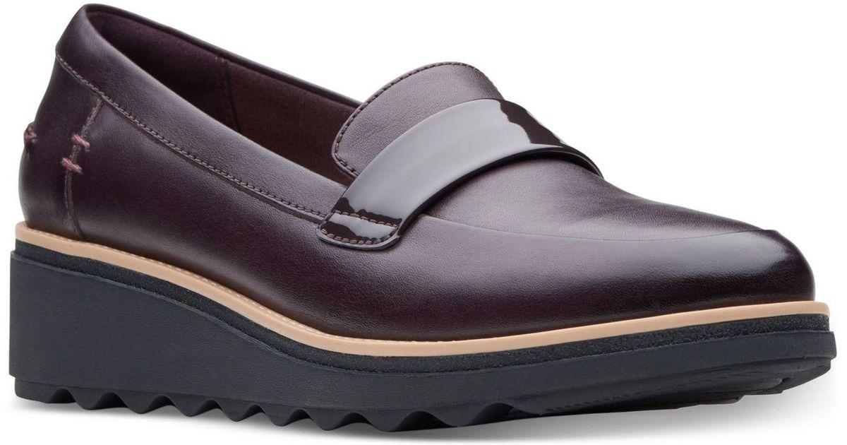 ac935e5d5 Lyst - Clarks Sharon Gracie Platform Loafers