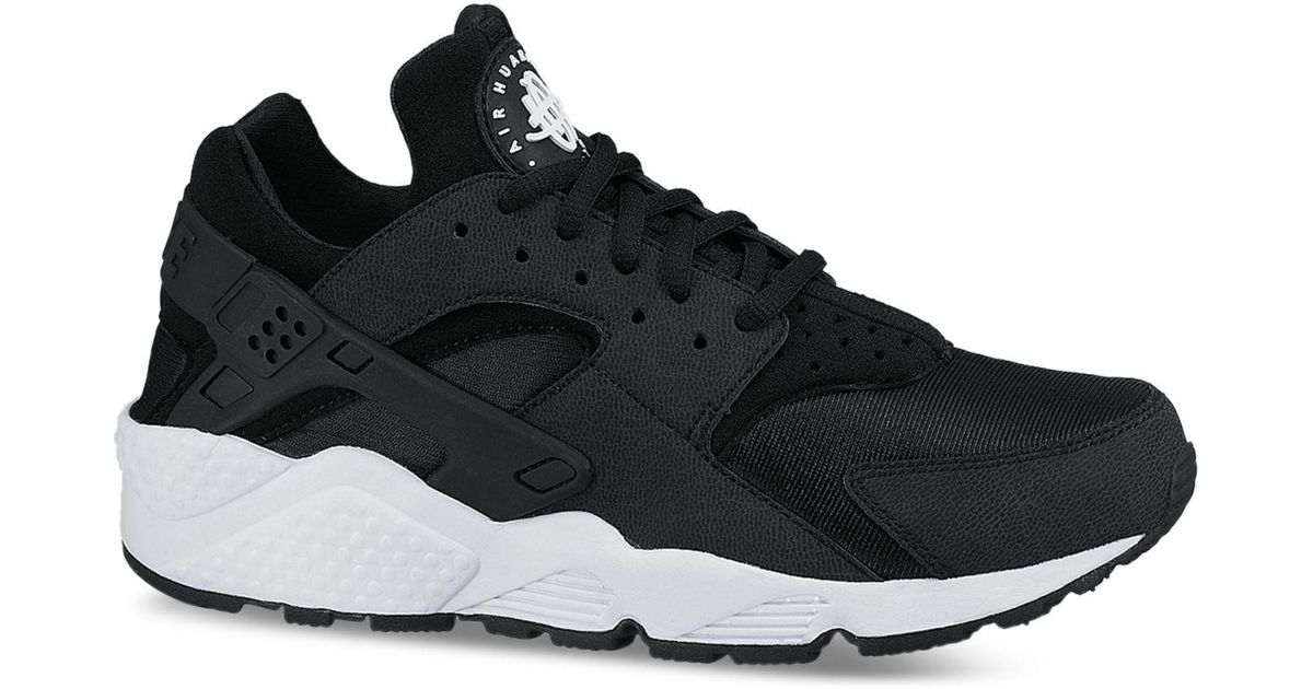 Lyst - Nike Women s Air Huarache Run Running Sneakers From Finish Line in  Black 0ad74558d