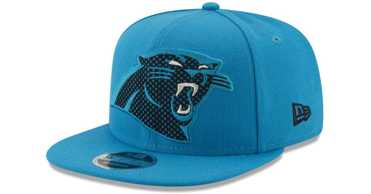 size 40 0a6f3 bebf5 Lyst - KTZ Carolina Panthers Meshed Mix 9fifty Snapback Cap in Blue for Men