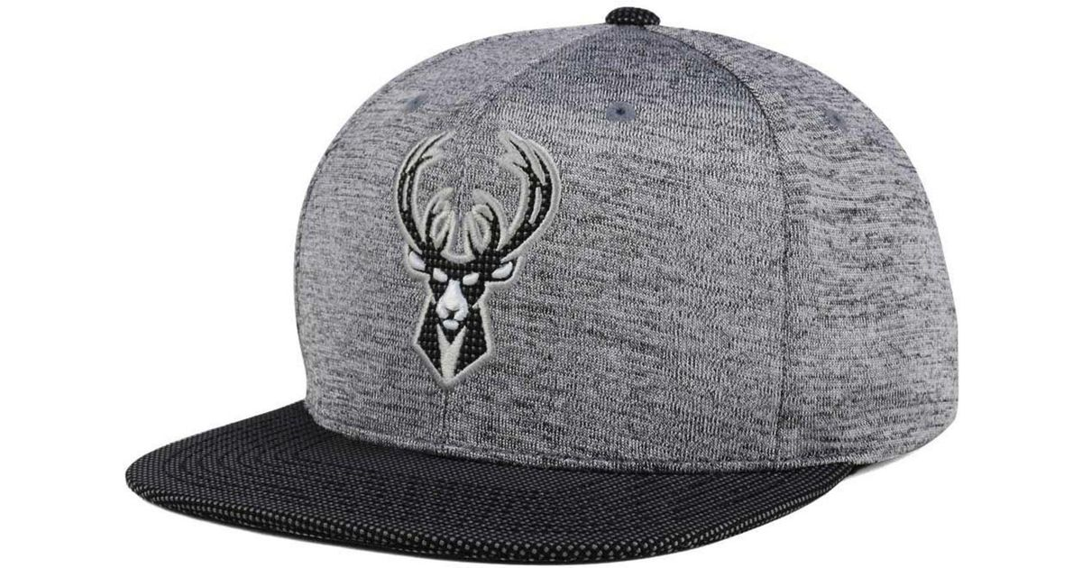 new arrival 37240 cc164 Lyst - Mitchell   Ness Space Knit Snapback Cap in Gray for Men