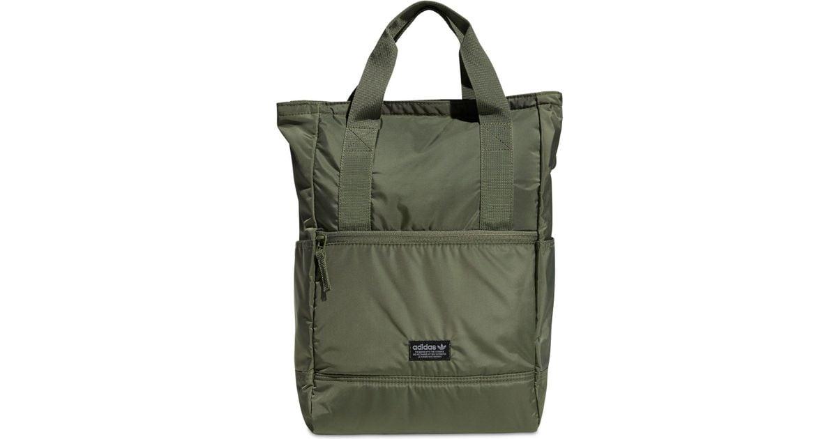 b99f8629c3 adidas Originals Tote Pack Ii Backpack in Green - Lyst