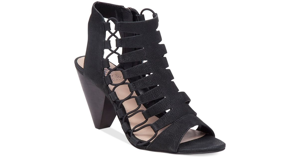 Vince Camuto Eliaz Gladiator Dress Sandals In Black Lyst