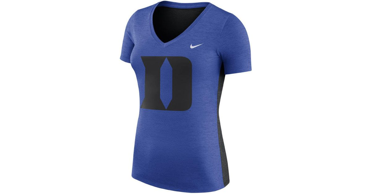 new arrival 97487 cc707 Lyst - Nike Duke Blue Devils Dri-fit Touch T-shirt in Blue