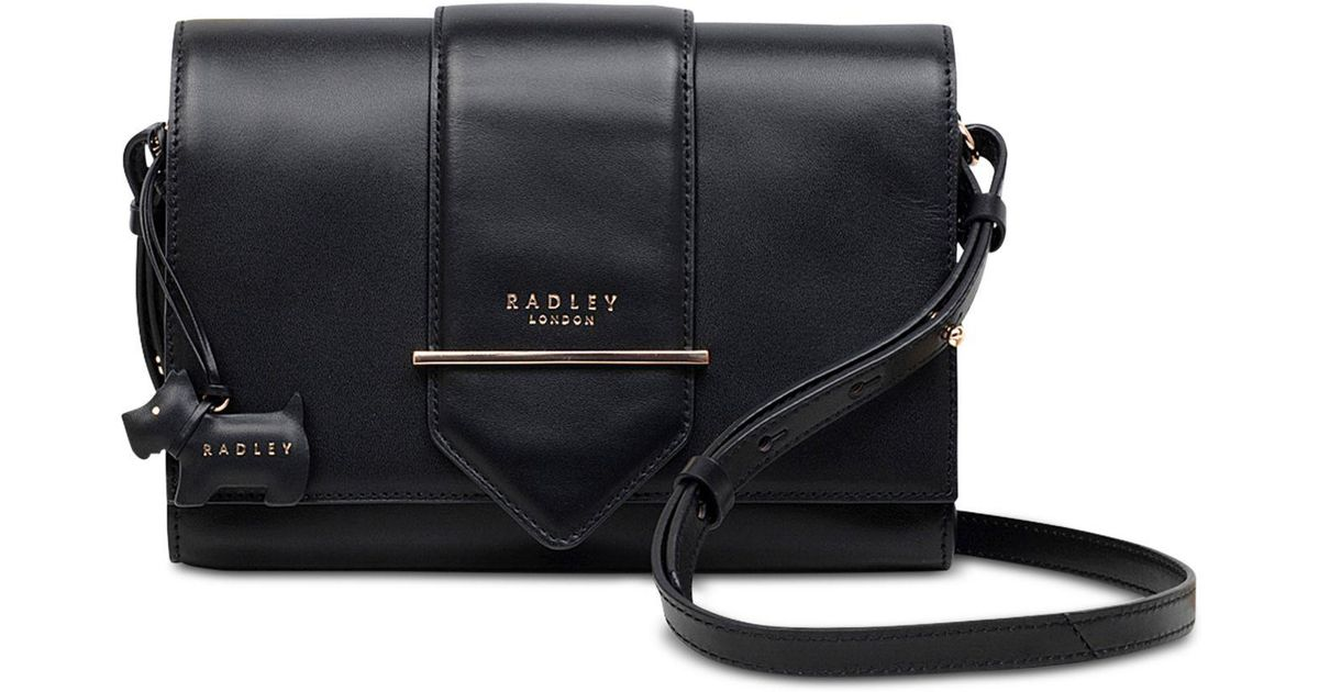 db87f27d7859 Lyst - Radley Palace Street Small Flapover Crossbody in Black