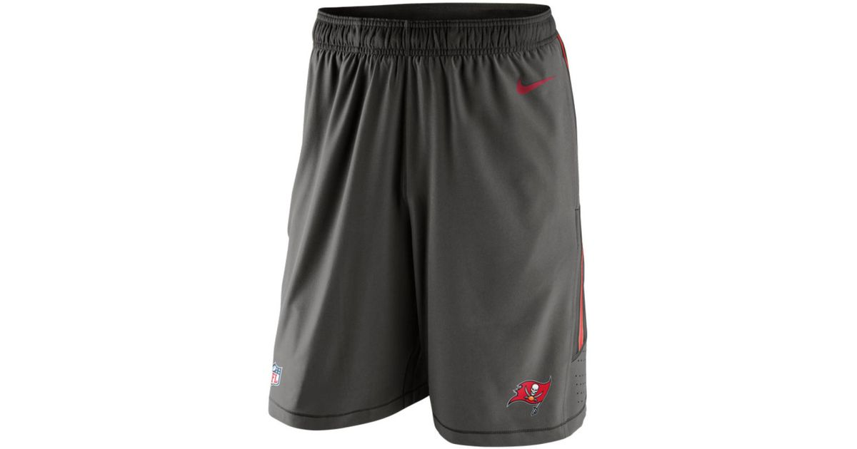 b6c05dc54cf3 Lyst - Nike Men s Tampa Bay Buccaneers Speed Vent Shorts in Red for Men