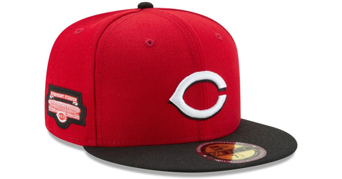 los angeles 07098 09983 KTZ Cincinnati Reds Ultimate Patch Collection Game 59fifty Fitted Cap in  Red for Men - Lyst