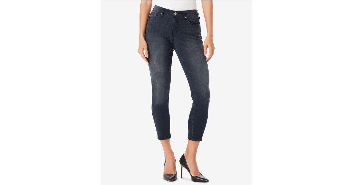 58befd87571 Vintage America - Blue Juniors  Wonderland Lattice Skinny Jeans - Lyst
