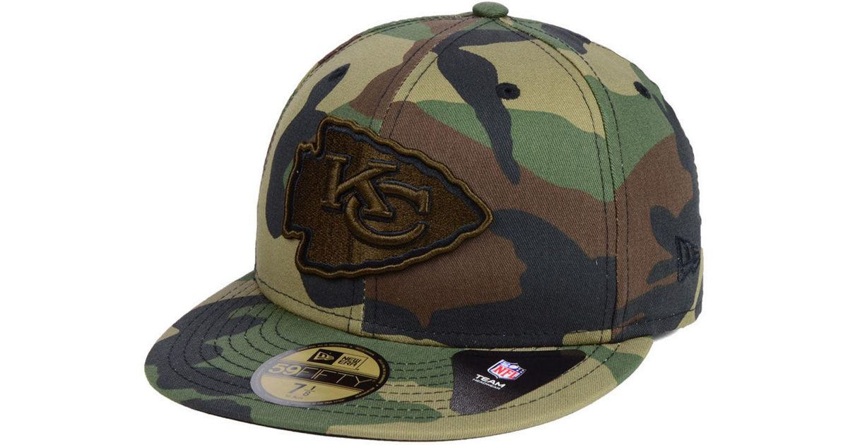 Lyst - KTZ Kansas City Chiefs Woodland Prism Pack 59fifty-fitted Cap in  Green for Men 0e5848fdaf82