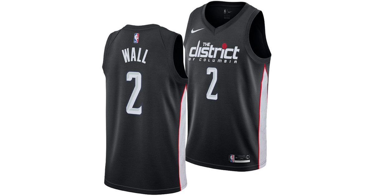 Lyst - Nike John Wall City Edition Swingman (washington Wizards) Nba  Connected Jersey in Black for Men 029cc14c5