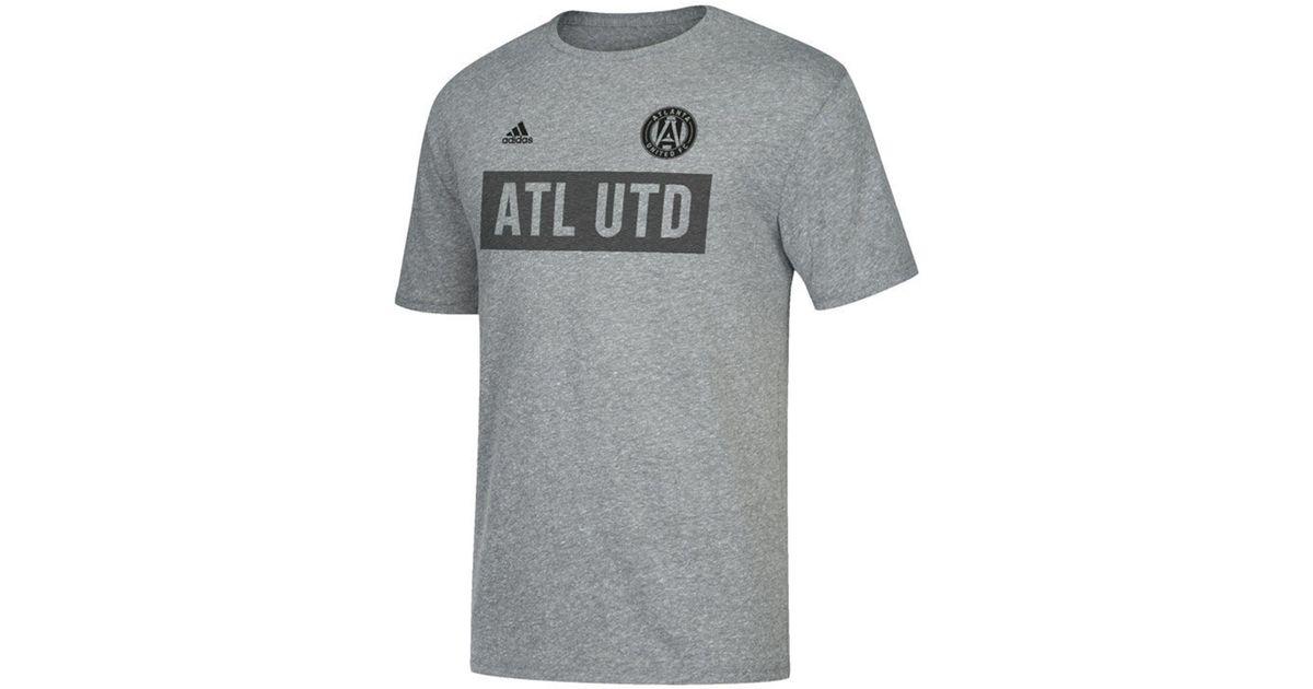 729cf9c0b0f Lyst - adidas Atlanta United Fc Bar None T-shirt in Gray for Men