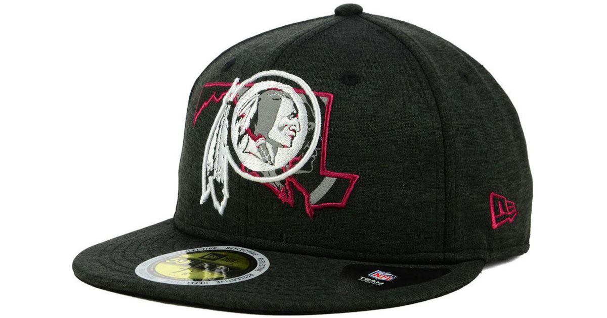 designer fashion d7e04 0f714 Lyst - KTZ Washington Redskins State Flag Reflective 59fifty Fitted Cap in  Black for Men