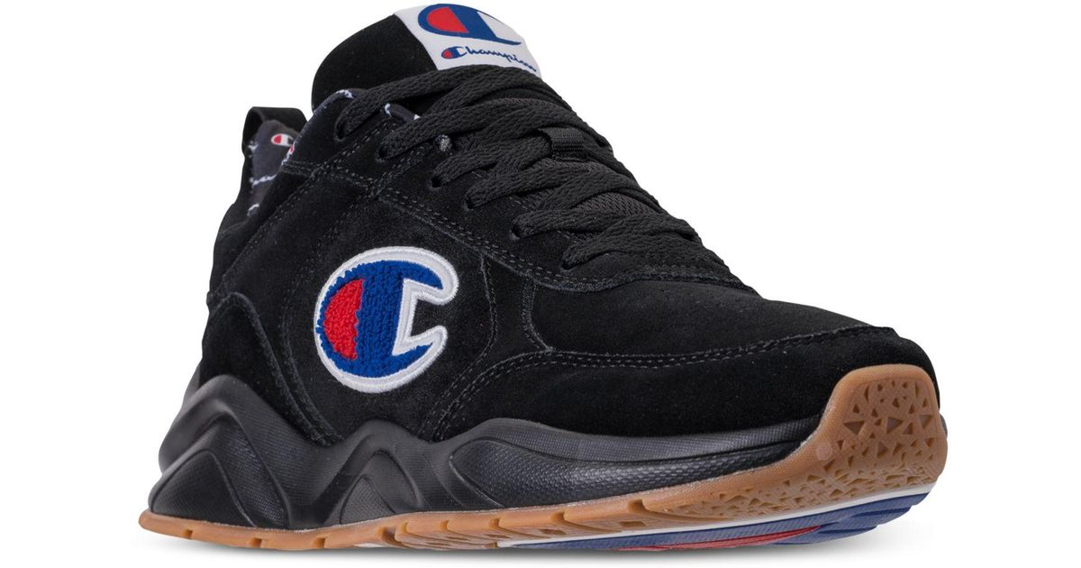 0f1dd1c42 Lyst - Champion 93eighteen Suede Chenille Athletic Training Sneakers From  Finish Line in Black for Men