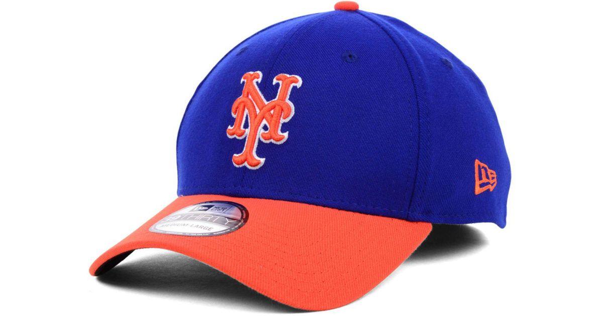 best website f7cda 4c46b KTZ New York Mets Mlb Team Classic 39thirty Cap in Orange for Men - Lyst