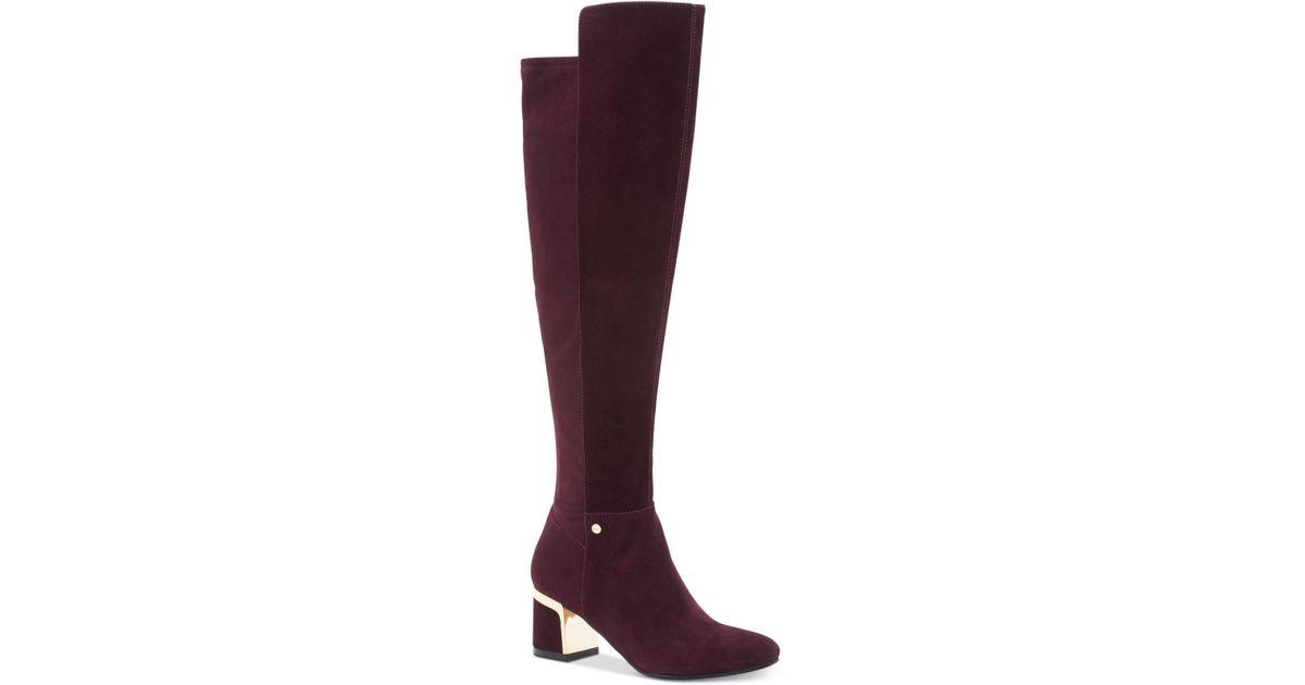 631f5d62e4f Lyst - DKNY Cora Knee Boots