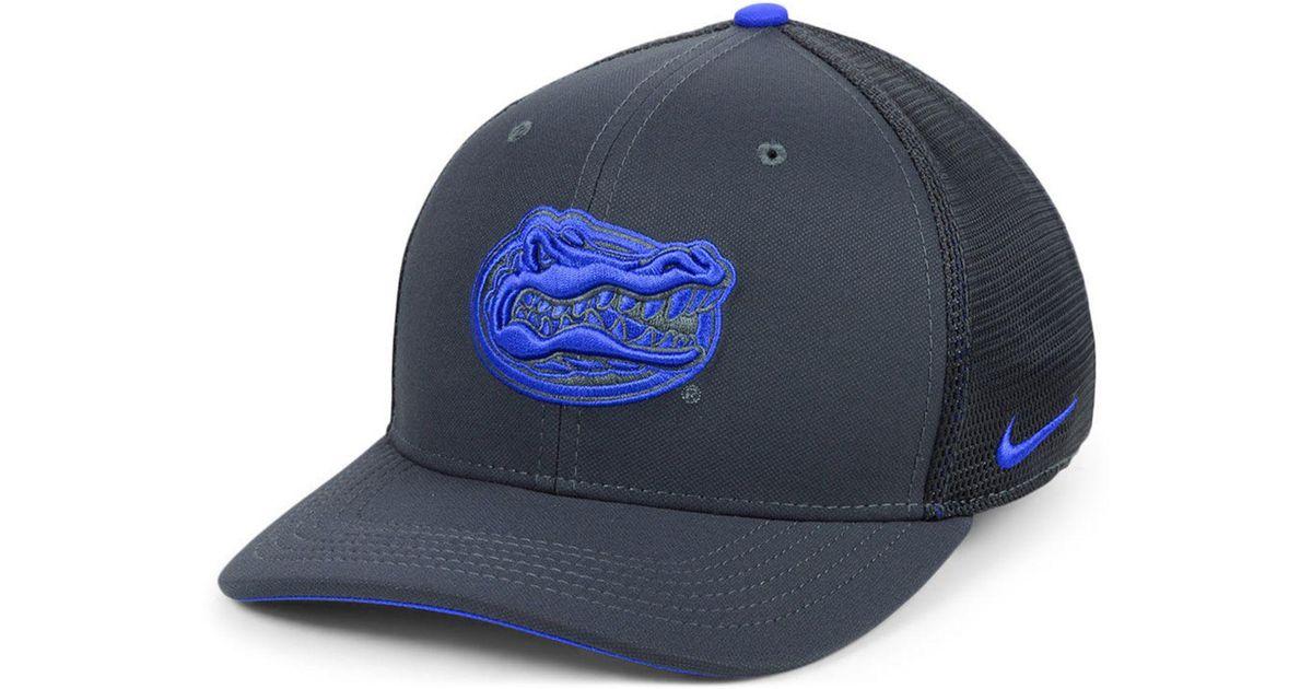 buy online a1b12 ae0c6 ... discount code for lyst nike florida gators col aro swooshflex cap for  men 7a52d 0f585