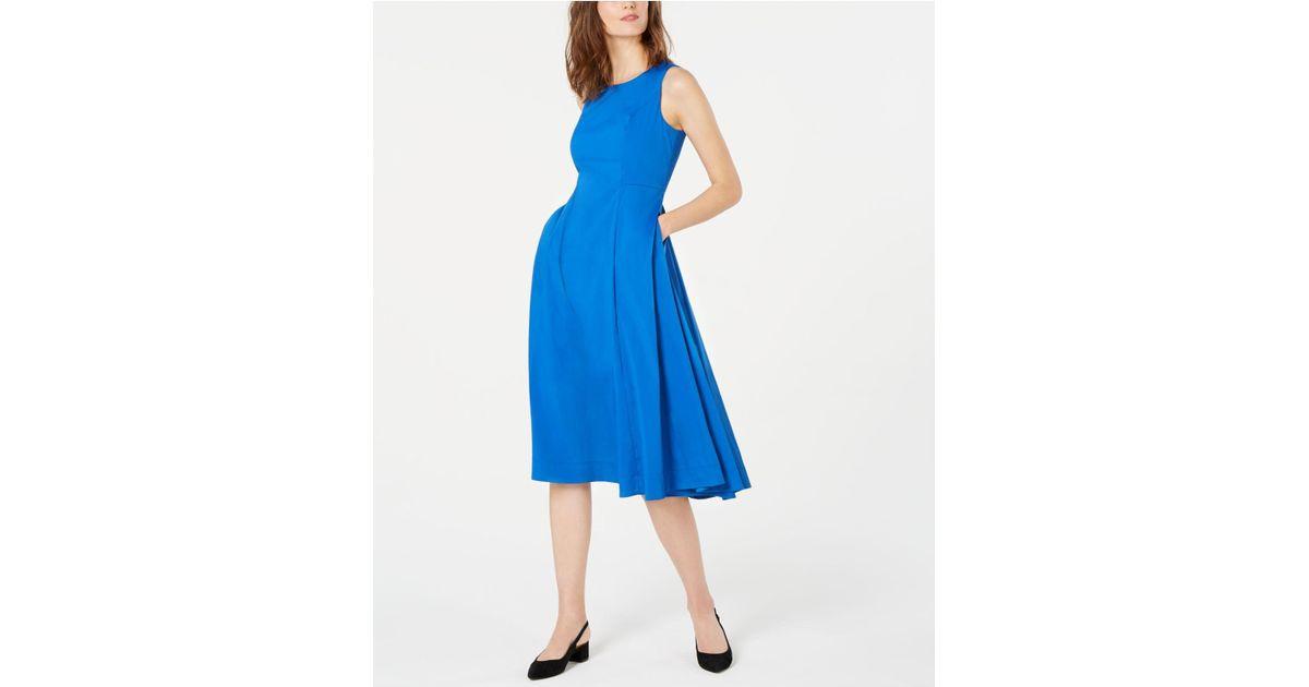 c85c051bff2 Lyst - Alfani Petite A-line Midi Dress