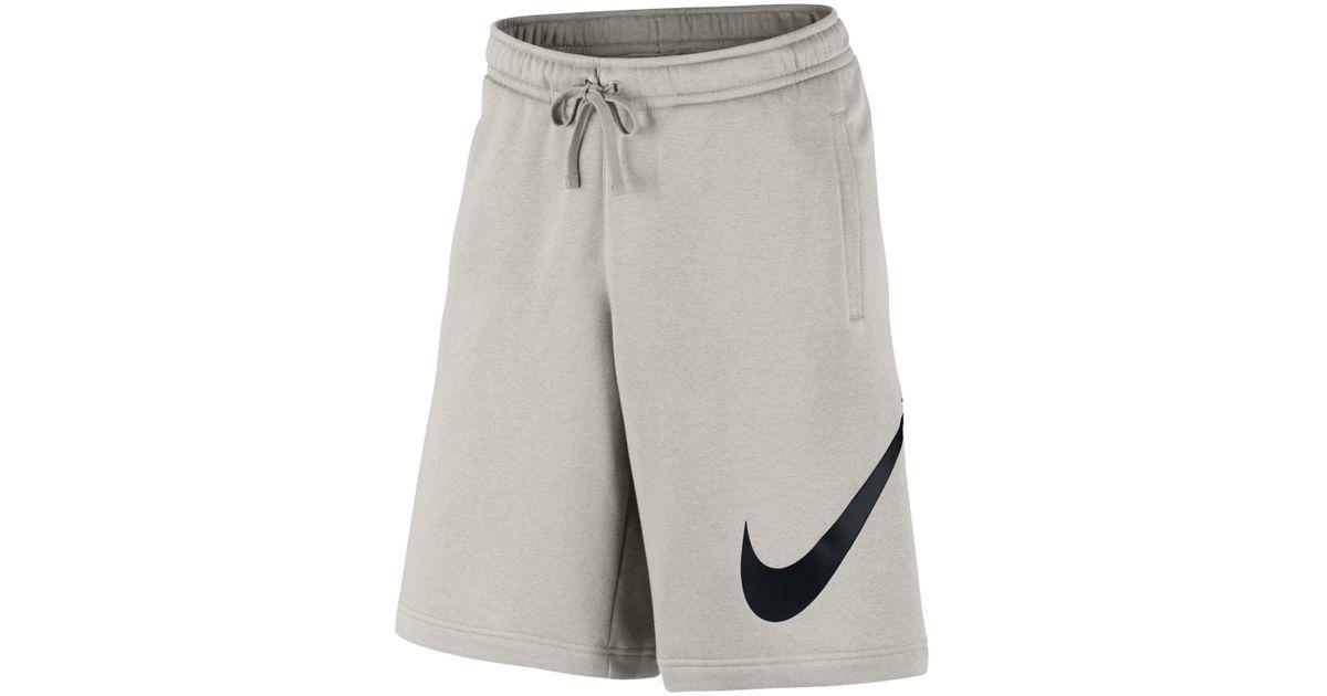 9e4a2d3c7a Nike Club Fleece Sweat Shorts for Men - Lyst