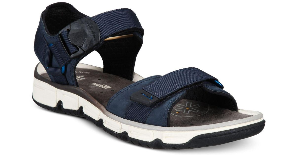 16bea7296b9e Lyst - Clarks Men s Explore Part Sandals in Blue for Men