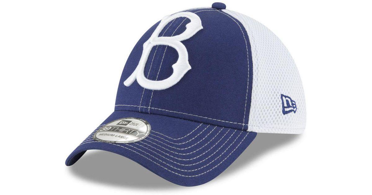 51ccf90a30626 Lyst - KTZ Brooklyn Dodgers Mega Team Neo 39thirty Cap in Blue for Men