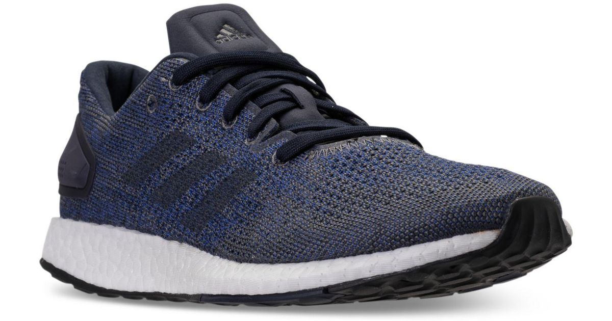 0d8457b0dd41b Lyst - adidas Pureboost Dpr Ltd Running Sneakers From Finish Line in Blue  for Men