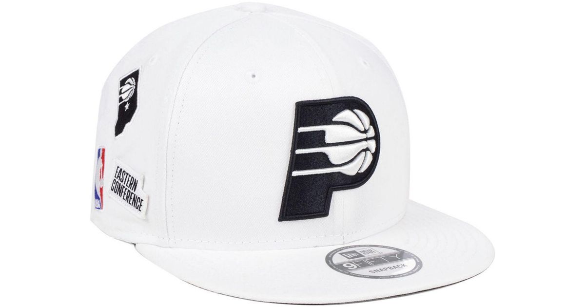 sale retailer eae90 11a2f KTZ Indiana Pacers Night Sky 9fifty Snapback Cap in White for Men - Lyst