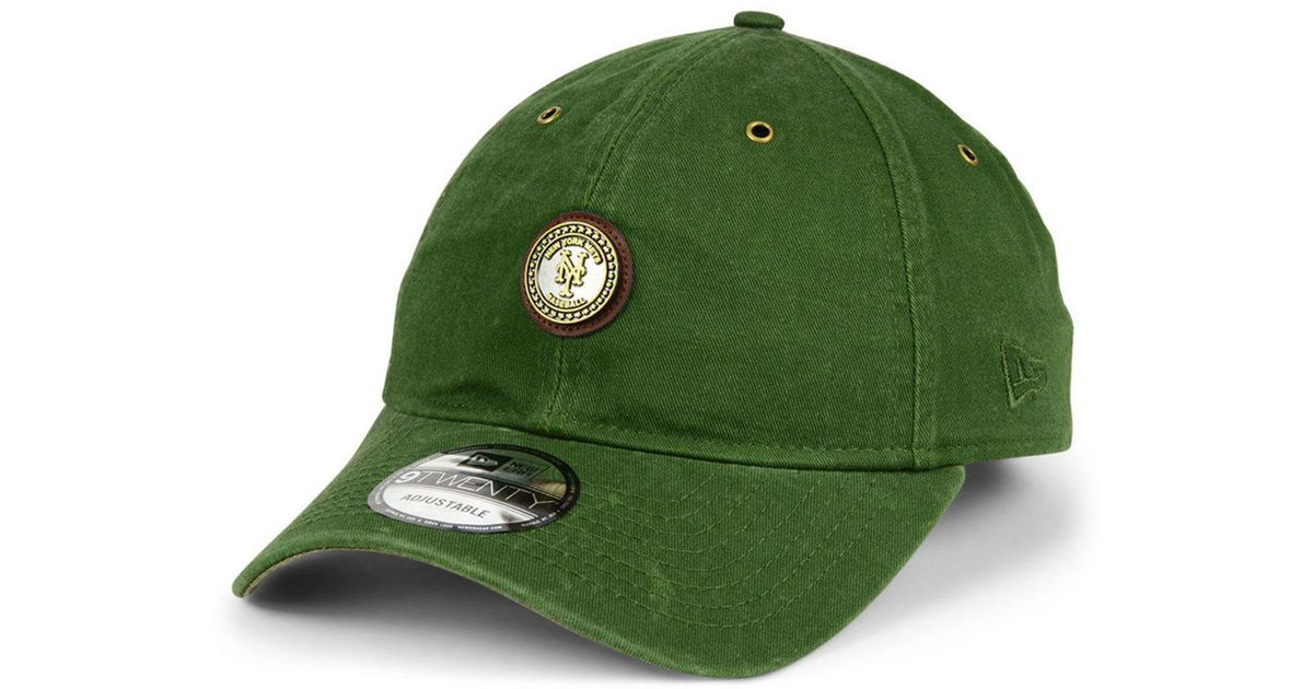 new product c323e b9cf7 Lyst - KTZ New York Mets Coin 9twenty Cap in Green for Men