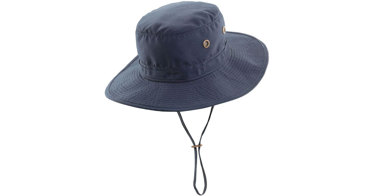 Lyst - Dorfman Pacific Boonie Hat in Blue for Men ddb2abd5f