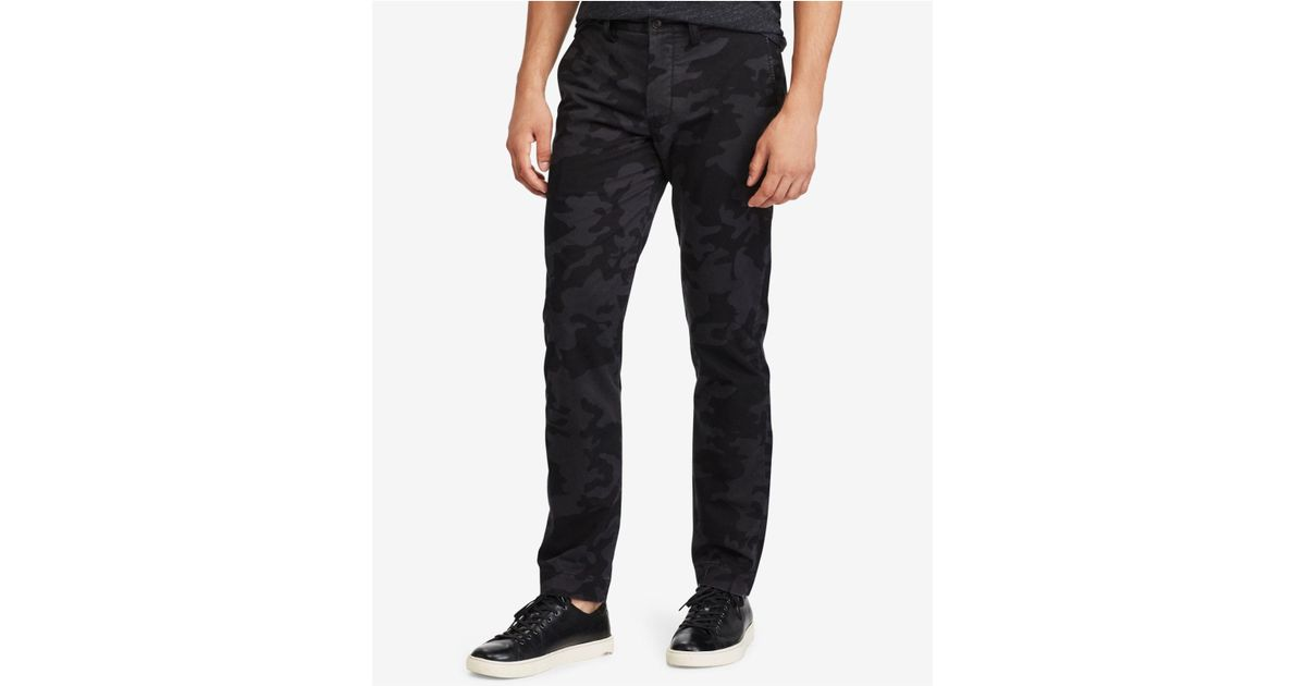 6c065efeadbc41 Polo Ralph Lauren Men's Stretch Straight Fit Chino Pants for Men - Lyst