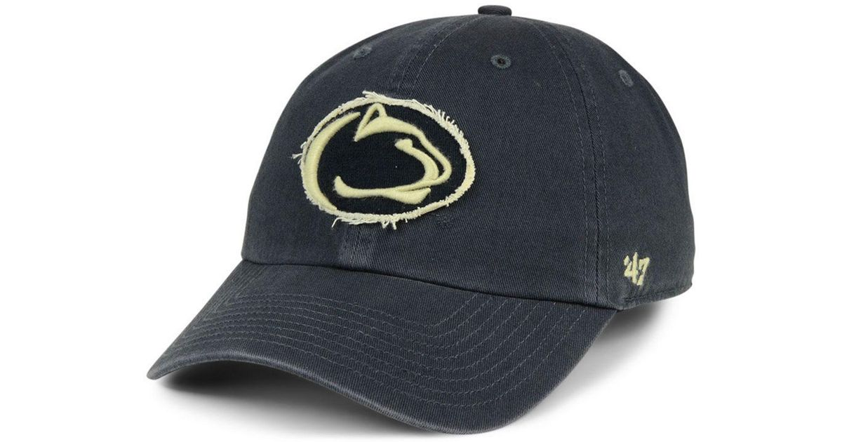 premium selection c67bd 0bea0 47 Brand Penn State Nittany Lions Double Out Clean Up Cap in Blue for Men -  Lyst