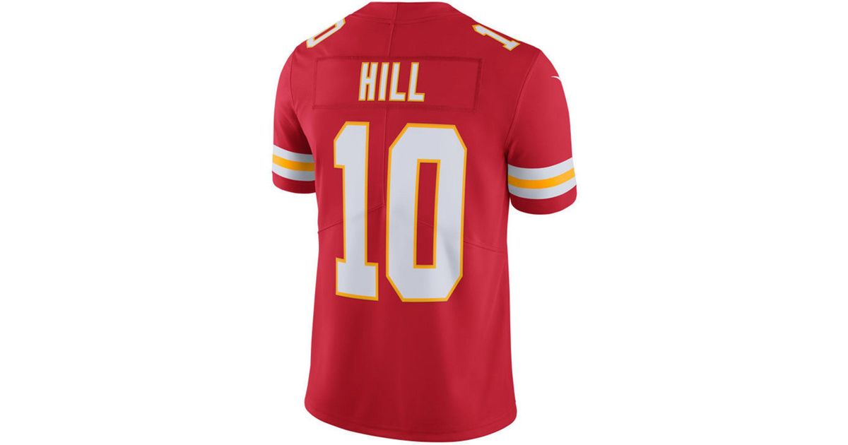 Lyst - Nike Tyreek Hill Kansas City Chiefs Vapor Untouchable Limited Jersey  in Red for Men c8fc83437