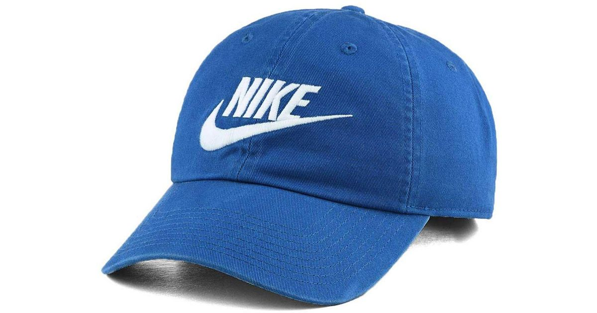 dfd054c01 Nike - Blue Futura Washed 86 Cap for Men - Lyst