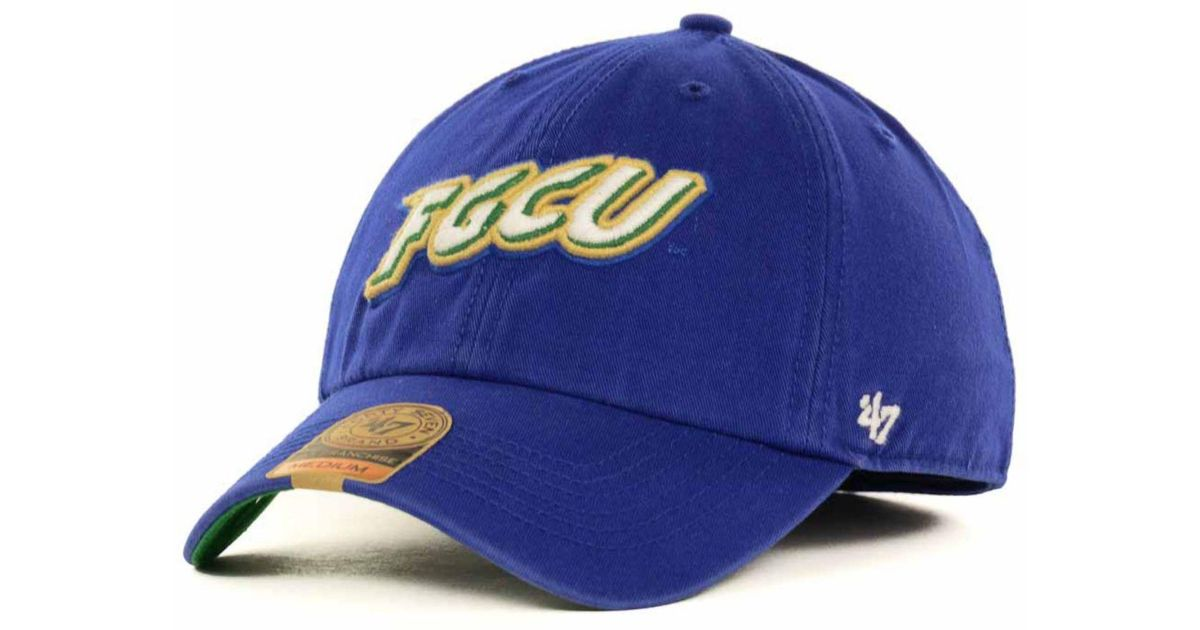 promo code e4106 b6a52 ... get lyst 47 brand florida gulf coast eagles ncaa 47 franchise cap in  blue for men
