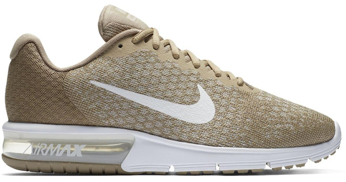 info for ee515 7ae54 ... Lyst - Nike Men s Air Max Sequent 2 Running Sneakers From Finish Line  in White ...